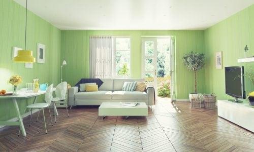 В одному кольорі – зелений