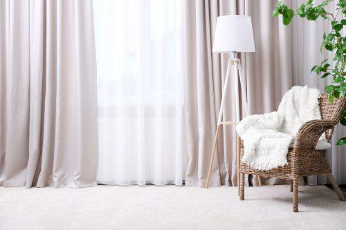 Як вибрати колір штор у вітальню?
