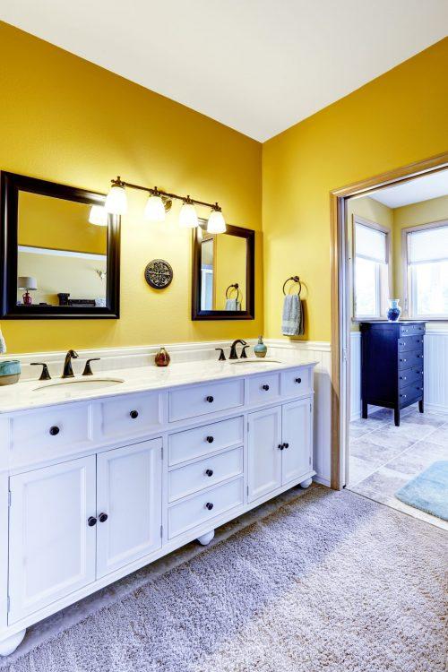 Жовта ванна кімната – це не фантастика!