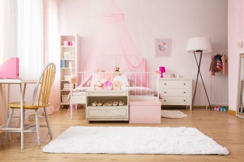 Кімната для дівчинки: як догодити маленькій леді
