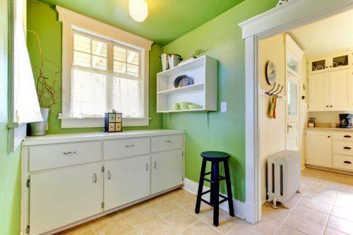 Зелена кухня – гармонія та спокій!