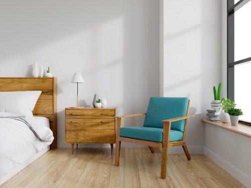 Спальня у скандинавському стилі: затишна північ