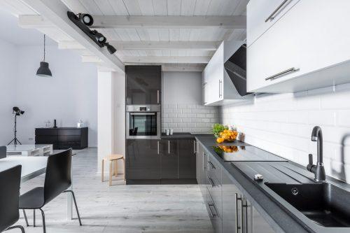 Лофт: дизайн кухні у квартирі