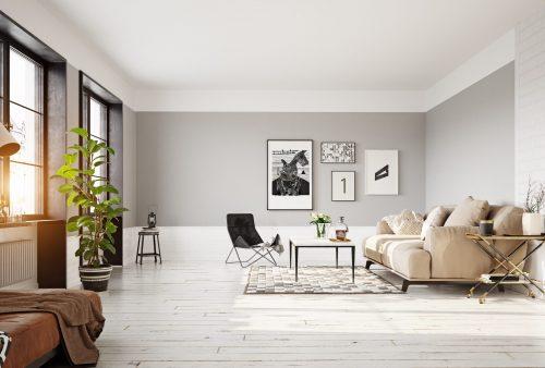 Кольори стін для вітальні: ТОП актуальних відтінків