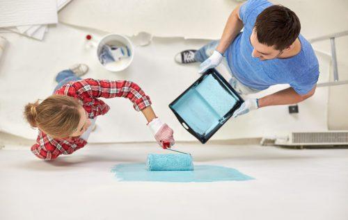 Фарбування стін: як розрахувати розхід фарби