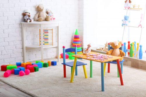 Ігрова зона в дитячій кімнаті: 3 складових