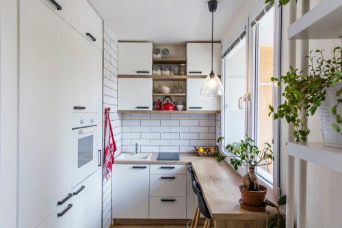 Дизайн маленької кухні: як збільшити простір