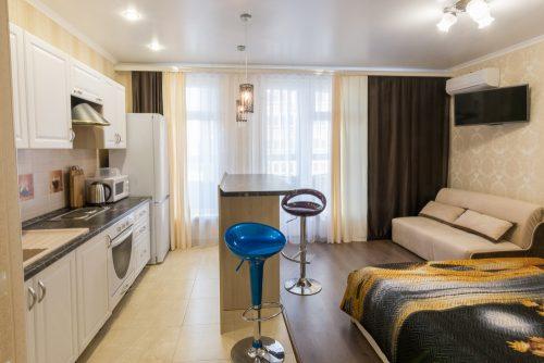 Дизайн однокімнатної квартири: 15 порад