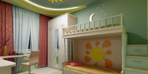 Дитяча кімната: освітлення за правилами