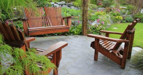 Захист садових меблів