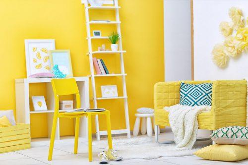 В одному кольорі – жовтий