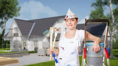 Технологія фарбування фасадів: підготовка поверхні до фарбування