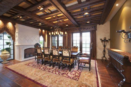 Декоративні балки на стелі: дизайн в інтер'єрі