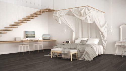 Балдахін в інтер'єрі спальні