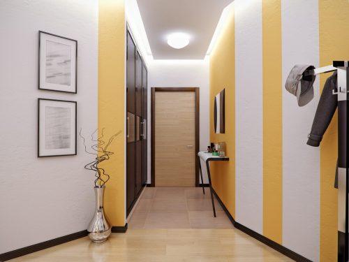Дизайн коридору: як скоригувати вузький передпокій