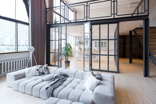 Скляні стіни-перегородки у дизайні інтер'єру