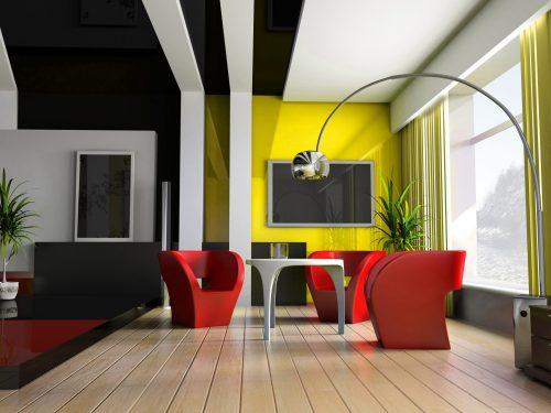 Дизайн стелі: фарбуємо у всі відтінки райдуги