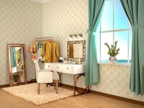 Куточок краси у спальні: 3 правила облаштування