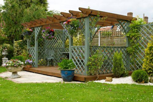 Пергола — окраса саду