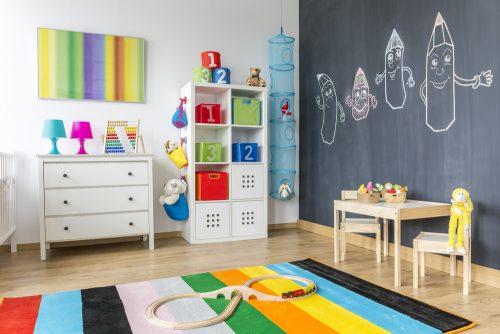 Дизайн дитячої для малюка від 3 до 6 років