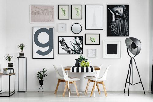 Декор стін: картини в інтер'єрі